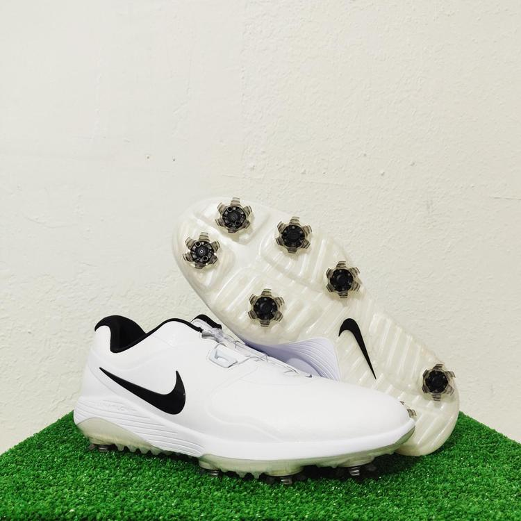 Nike Vapor Pro Boa White Black Cleats Aq1790 100 Men S Size 8 Golf Shoes