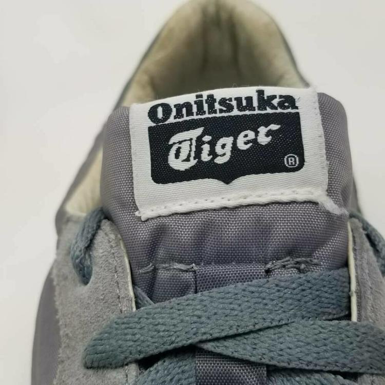 Asics Onitsuka Tiger Mens 13 Serrano D109L Running Shoes Gray Lace Up EUR 48 Fottøy Turfs, innendørs, joggesko og treningSidelineSwap Fottøy Turfs, innendørs, joggesko og trening SidelineSwap