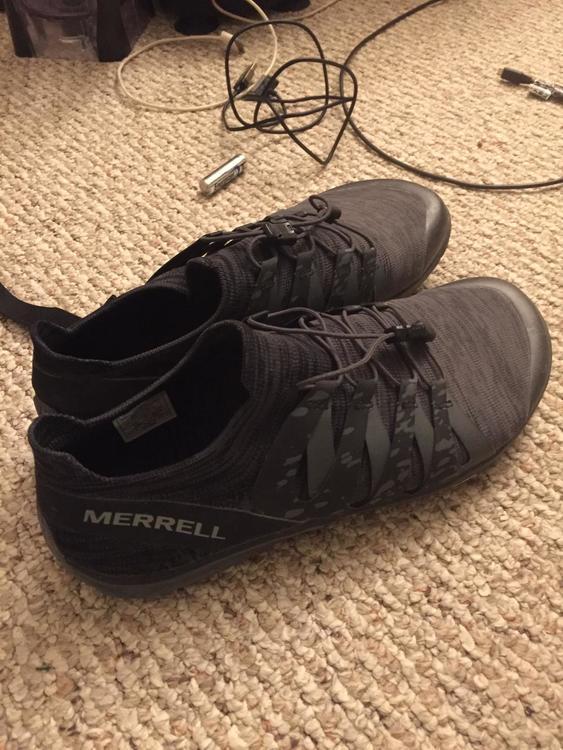 new MERRELL trail glove 5 knit 3d