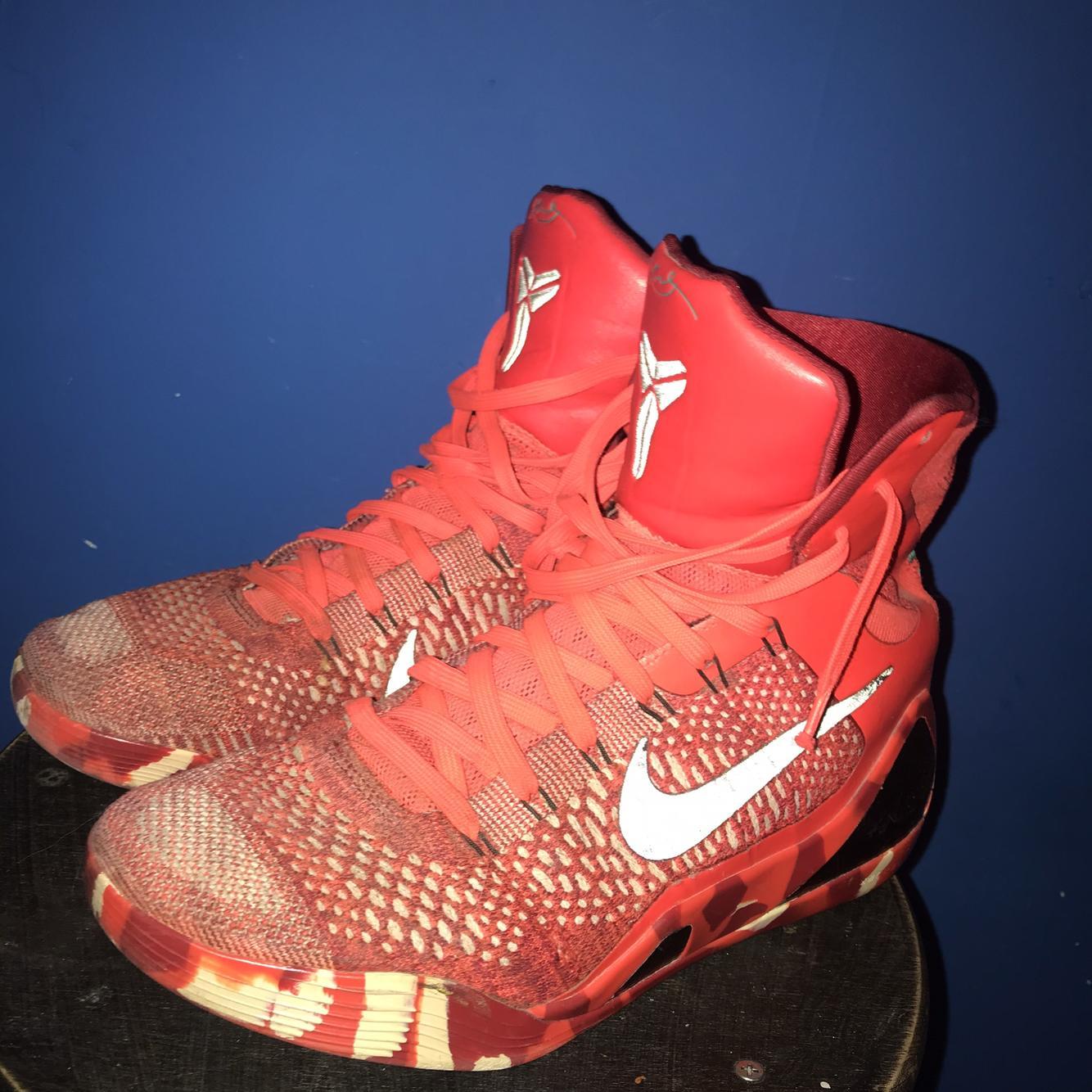 Nike Kobe 9 Elite High Christmas Used