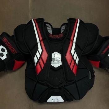 New Vaughn V6 800 Junior Medium//Large ice hockey goalie chest and arm protector