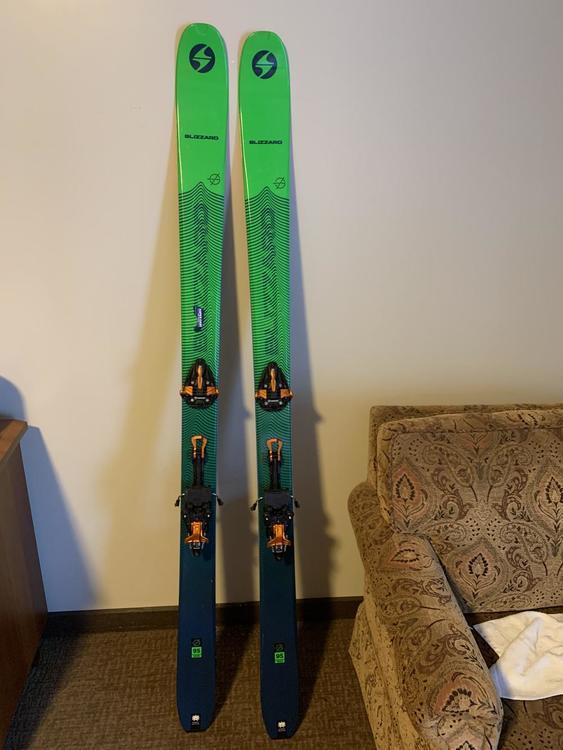 2018 Blizzard Zero G 95 Skis Only