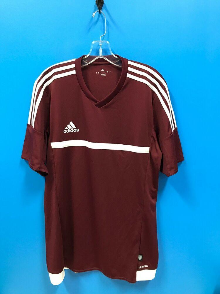 NEW Adidas 100% Polyester Adult Climacool Soccer Shirt Color ...