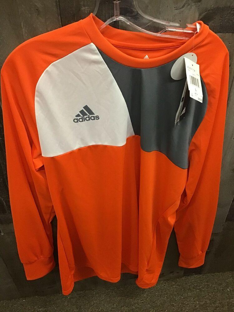 Adidas Mens Assita 17 GK Goalkeeper Jersey Climalite Soccer Padded Small NWT FIRM PRICE