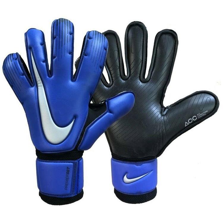 Gallina Delegación Cumbre  Nike GK Premier SGT sz 9 Gloves Racer Blue Black GS0376 410   Soccer  Goalkeeper
