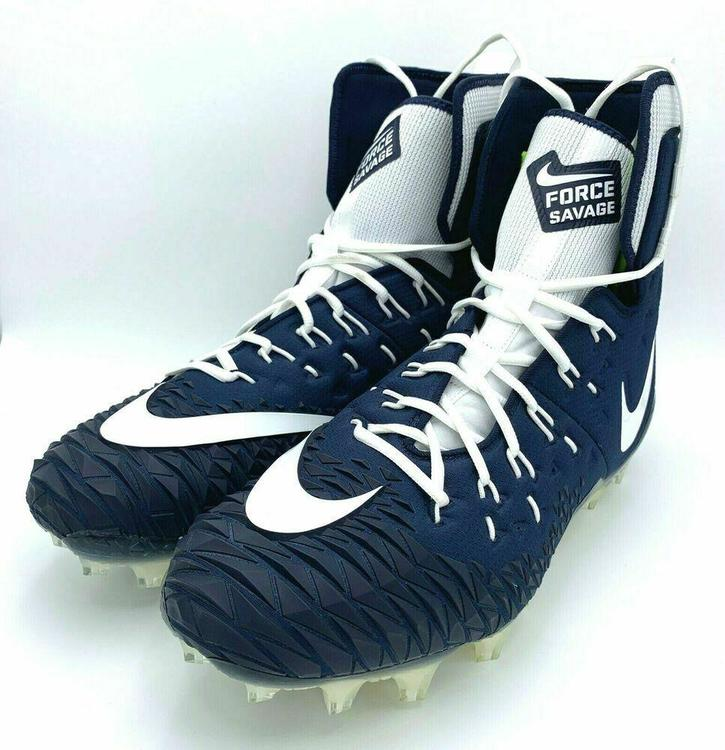 shoes for cheap best selling unique design Nike Force Savage Elite TD sz 17 (Navy Blue/White) 857063 411 ...