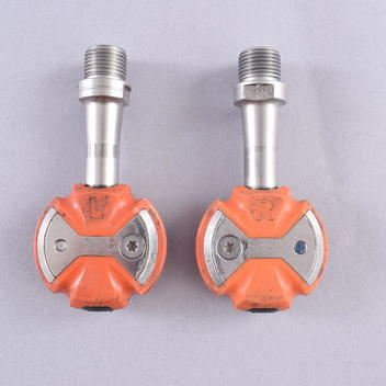 Silver Speedplay Zero Stainless Road Bike Pedals with Cleats