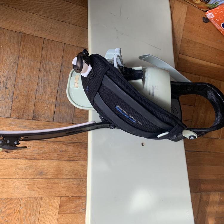 Burton Unisex With Bindings Very Stiff Snowboard