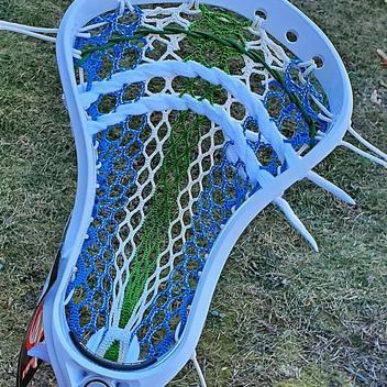 Brine Clutch 3 X Lacrosse Unstrung Lax Head White//Yellow NEW List @ $100