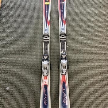 Rossignol S3 with Demo BindingsW//FITT Used Ski Package 159cm Twin Tip Rocker