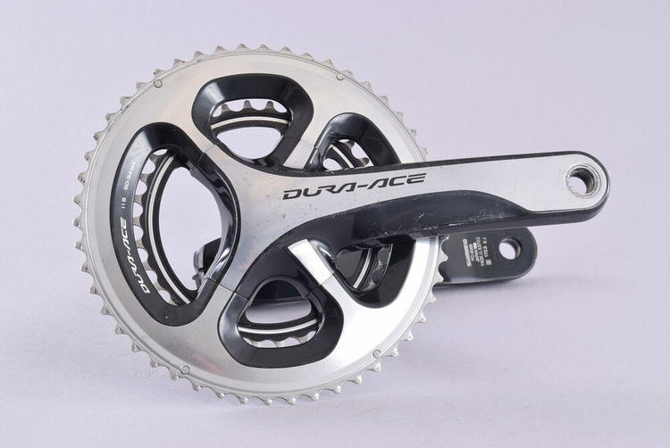 Campagnolo Record H11 Carbon Crankset 172.5 36//52 Chainrings 11 Speed MSRP $720
