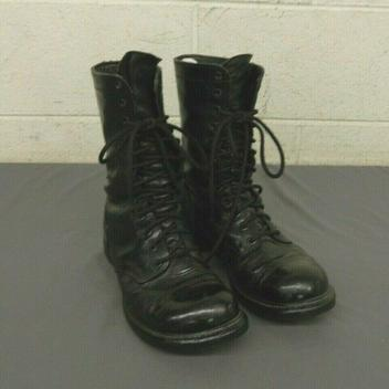 Wellco Safety Flight Deck Black Leather Steel Toe Tactical