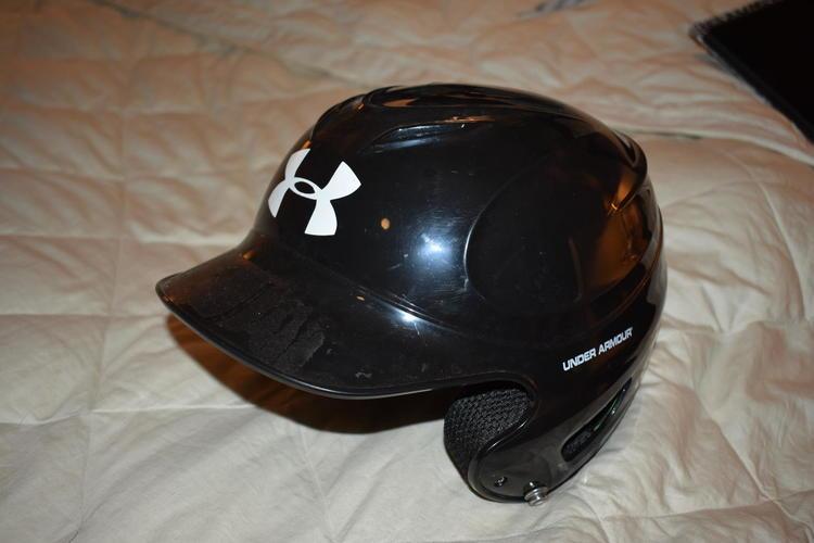 Under Armour Matte Hunters Camo Adult Baseball Batting Helmet