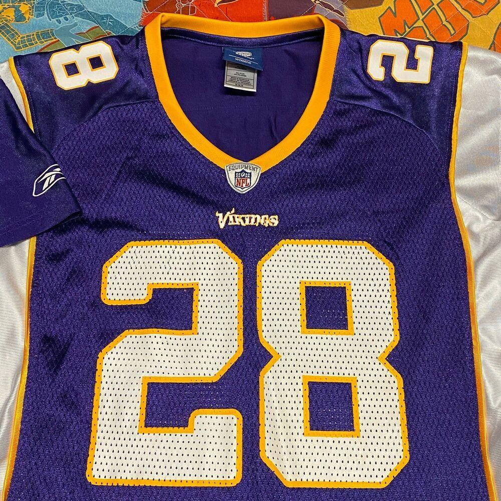 Adrian Peterson Minnesota Vikings Jersey Womens Medium NFL ...