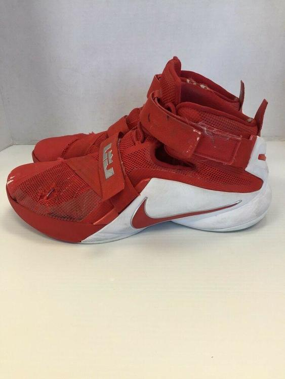 Nike Zoom Lebron James size 17 mens Red