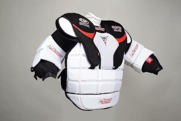 New Warrior MPG Box Lacrosse Goalie Chest protector XS equipment goal lax