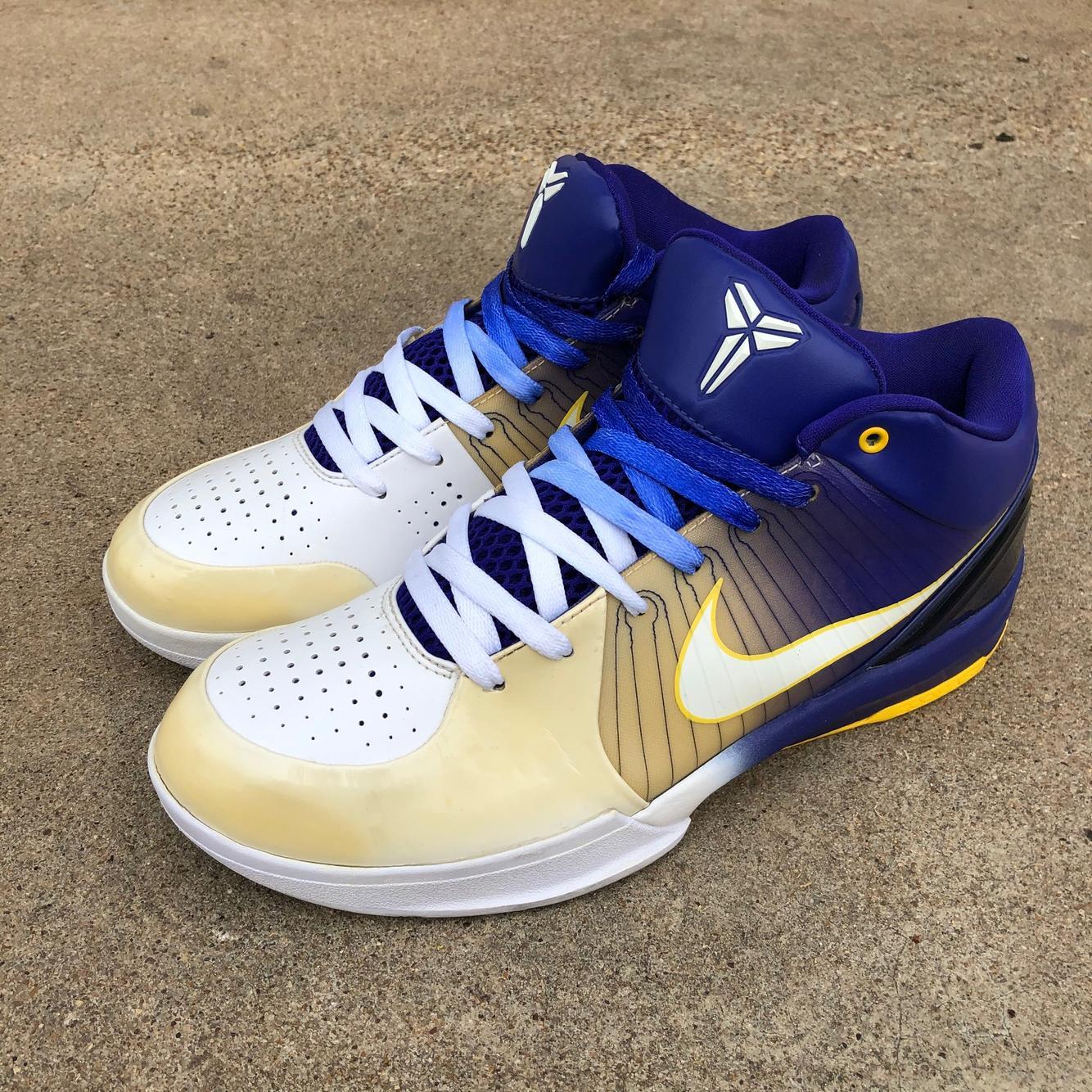 Nike Zoom Kobe 4 'Lakers Home' sz 10.5