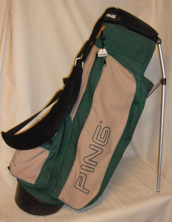 Ping Hoofer Carry Bag Green And