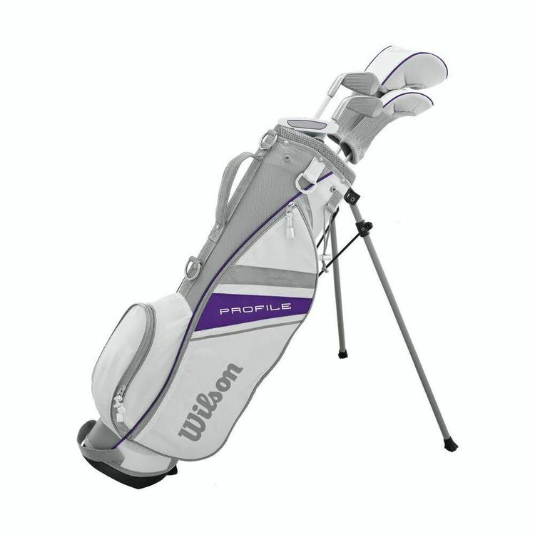 Wilson Profile Junior Complete Set 6pc Girls Ages 8 11 Left New Golf Clubs