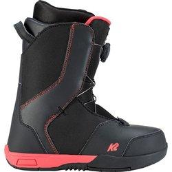 Elan Omni Youth Snowboard Boots Size 4 Mondo 22 Used