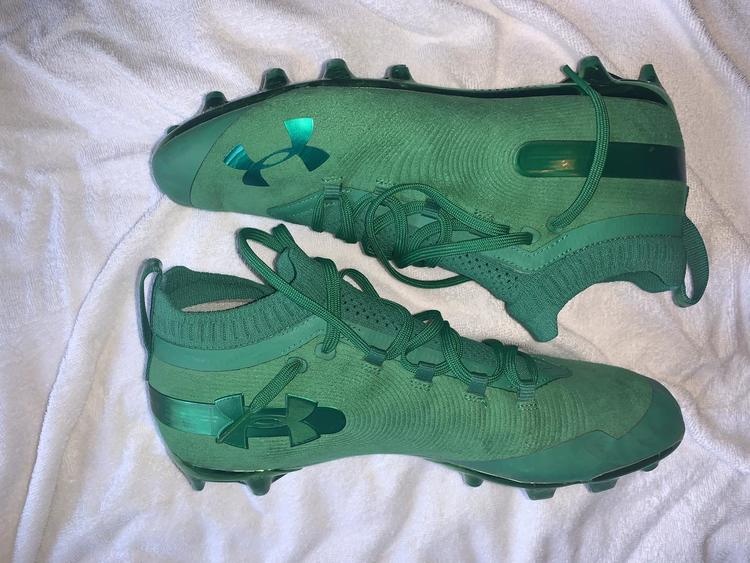 Under Armour Gently Used Men S Spotlight Suede Mc Size 11 Footwear Cleats