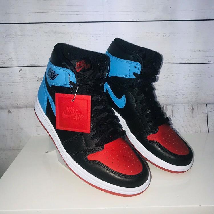 Air Jordan Nike 1 High Og Unc To Chicago Cd0461 046 Size 7 Wmns