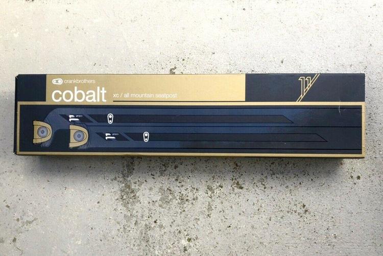 Crank Brothers Cobalt 11 Carbon Setback Seatpost Black//Gold 30.9 x 400mm