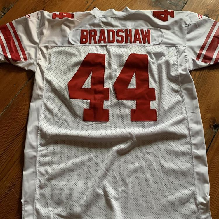 Ahmad Bradshaw Authentic Giants Away Jersey | SidelineSwap