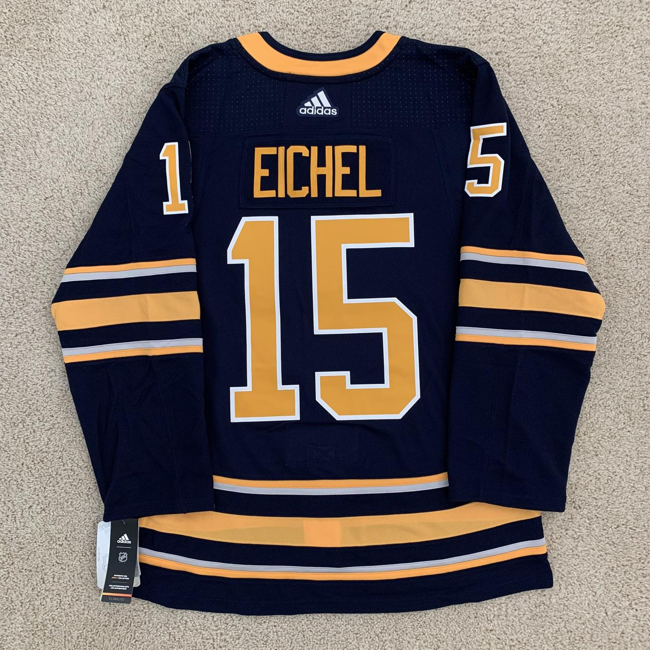 NEW! Authentic Jack Eichel Buffalo Sabres Adidas Home Hockey ...