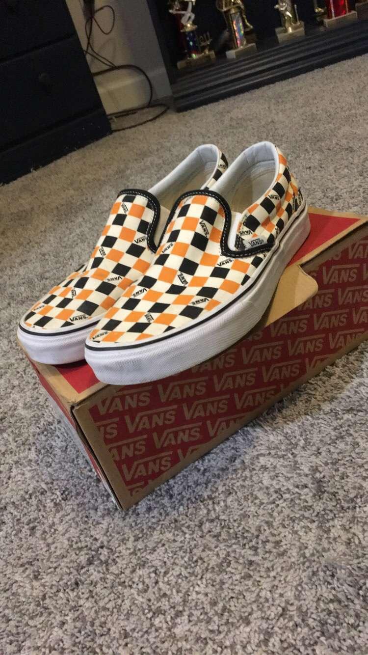 Vans Limited Edition Orange and Black
