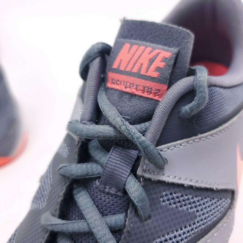 Nike Air Sculpt TR 2 Womens Size 9 Gray