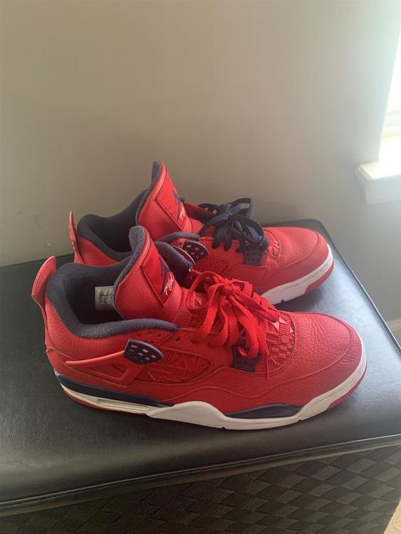 Red Men's 12 (Women's 13) Air Jordan Shoes