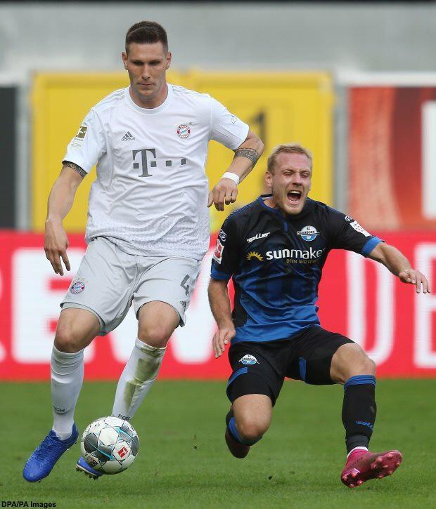 FC Bayern Munich 2019-2020 Alternate Away Niklas Sule Men's ...