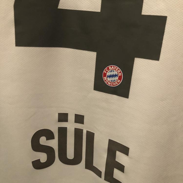 FC Bayern Munich 2019-2020 Alternate Away Niklas Sule Men's Large Adidas Soccer Football Jersey | SidelineSwap
