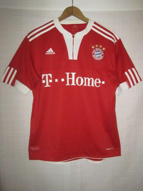Adidas Fc Bayern Munchen Climacool Jersey Kids Boys L Munich Germany Soccer Apparel Jerseys