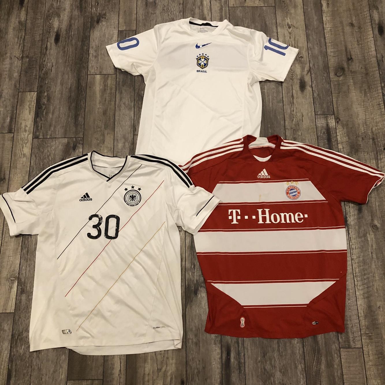 Size XL Authentic Pro Team Germany Brazil Bayern Munich Soccer ...