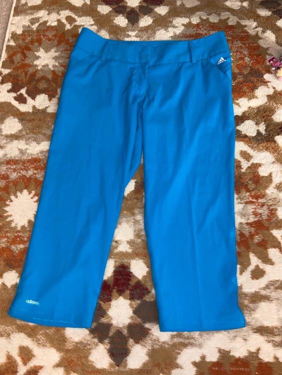 Adidas Blue Women S 12 Pants Golf Apparel Sidelineswap