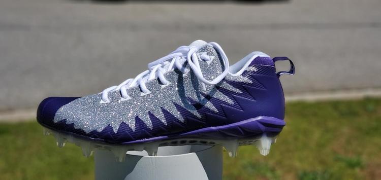 Nike Alpha Menace Low Silver Purple