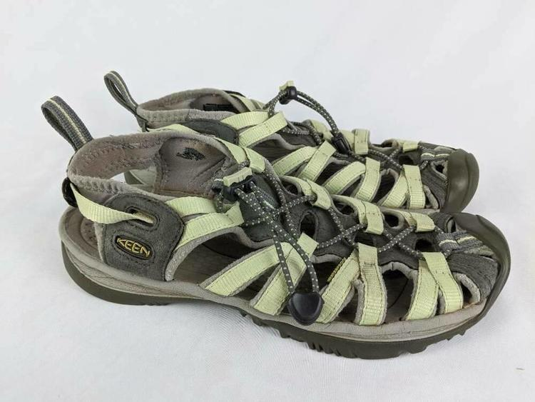 KEEN Womens Sport Sandals Green Closed
