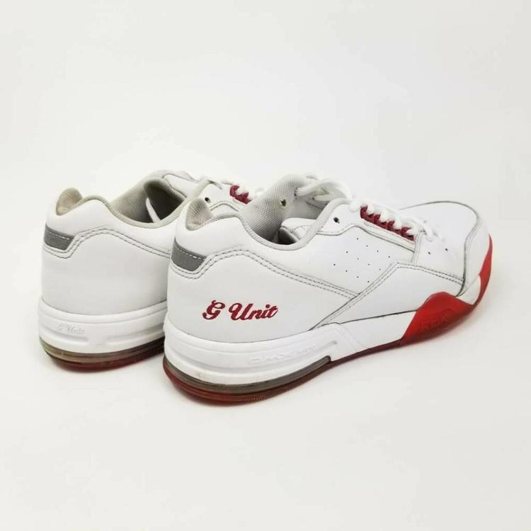 Reebok G Unit Mens 8.5 Sneakers White