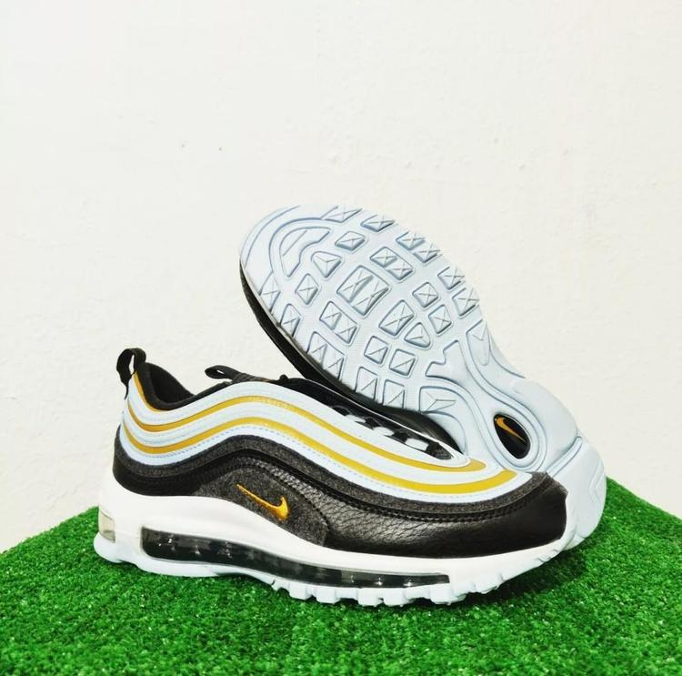 Nike Air Max 97 Gs Fleece Black Celestine Blue White Gold Cd4831