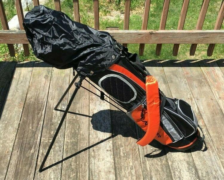 Nice Juniors Complete Club Set Bag Left Handed Kids Age 8 12 Years Old Removed Golf Clubs
