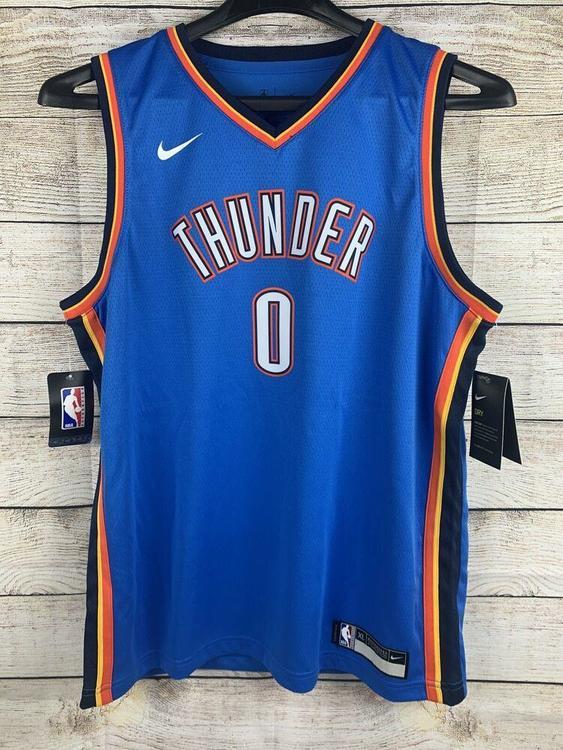 Youth NBA Jersey Oklahoma City Thunder Russell Westbrook XL