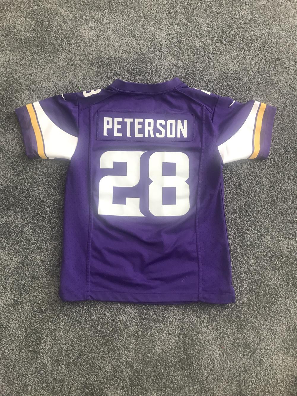 Youth Medium Vikings Adrian Peterson Jersey