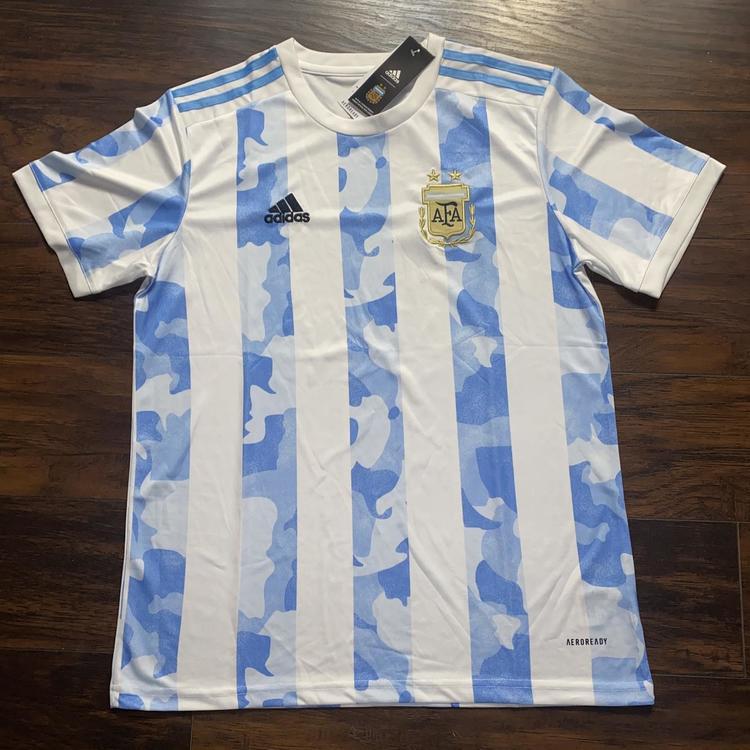 Adidas Argentina Home Jersey 2020 Soccer Apparel Jerseys