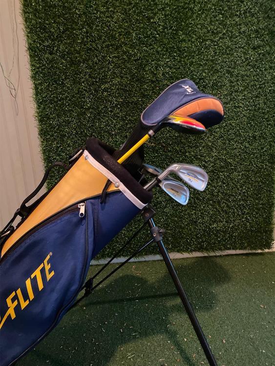 Top Flite Used Left Handed Junior 6 Club Set Check Description For Details Sold Golf Clubs