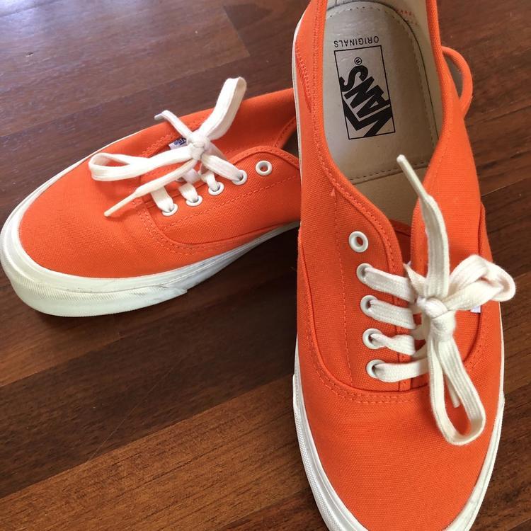 Vans Orange Vault Authentic Shoes Men's