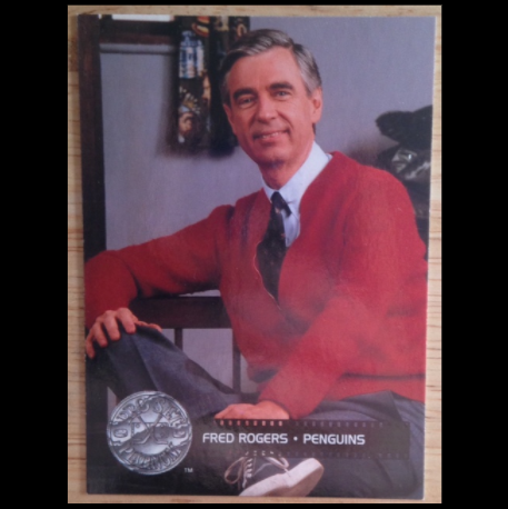 Mr Rogers Fred Rogers 1992 Nhl Pro Set Celebrity Captain Hockey Card Memorabilia Sidelineswap