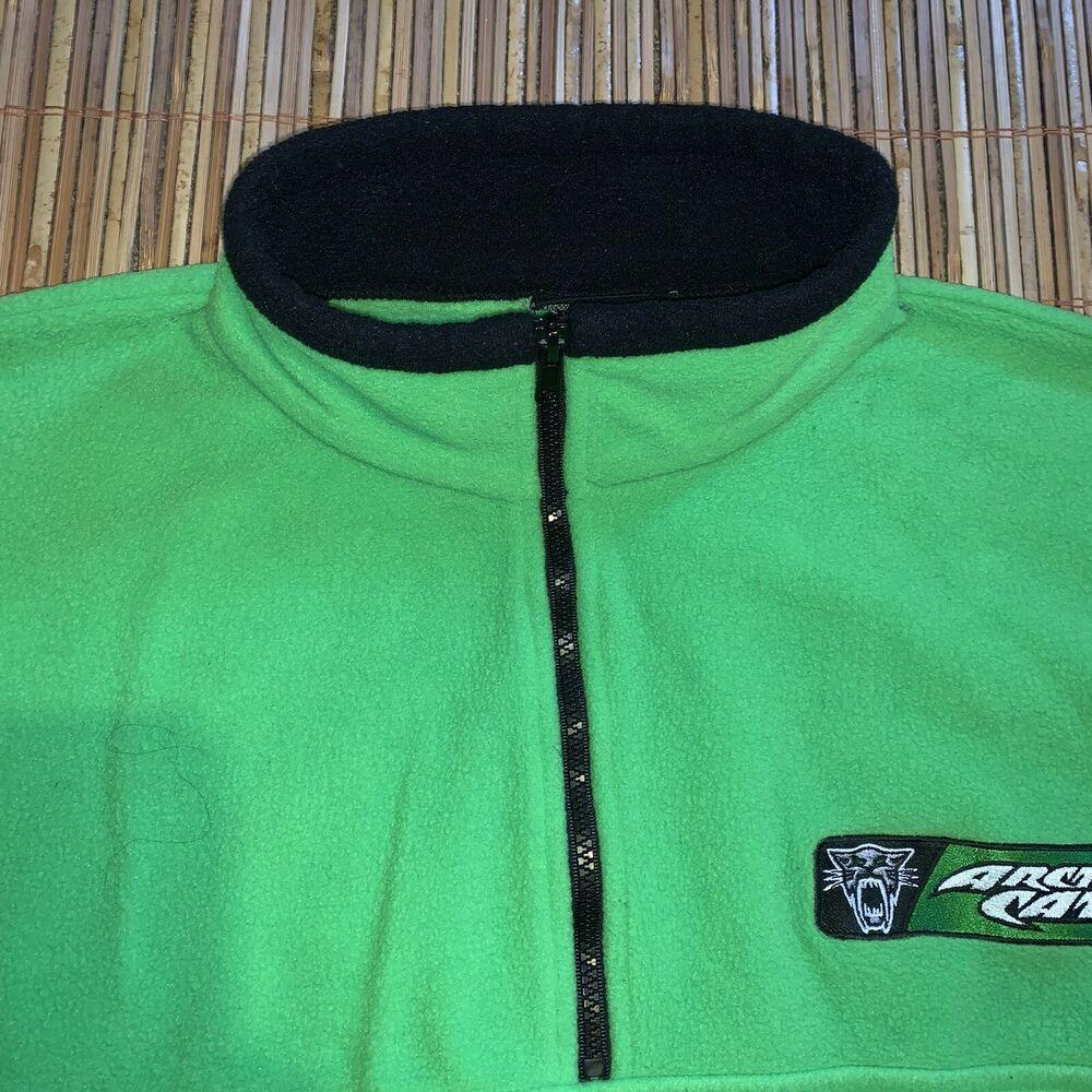 Green or Pink Arctic Cat Infant Toddler Race Team 1//4 Zip Polyester Sweatshirt