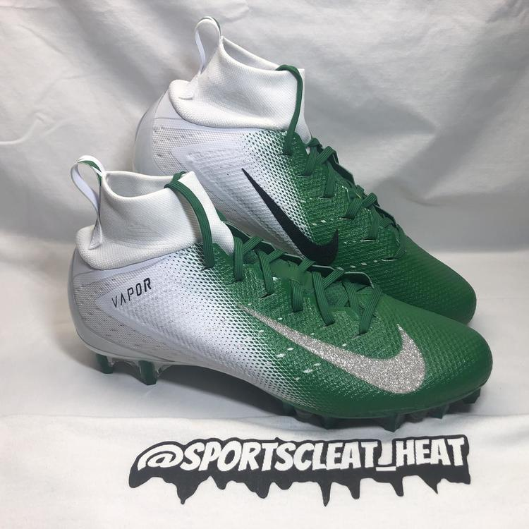Nike New Vapor Untouchable Pro 3 Green White Size 11 5 Football Cleats